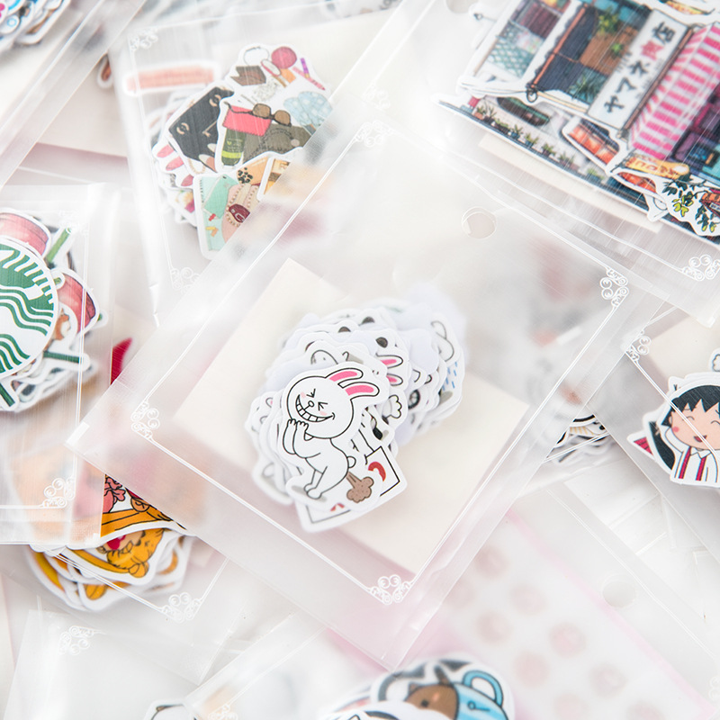 Office & School Supplies Active 6 Sheets Pig Stickers For Kids Kawaii Stationery Sticker Home Wall Decor Cute Animal Decal Fridge Skateboard Doodle Diy Decor Memo Pads
