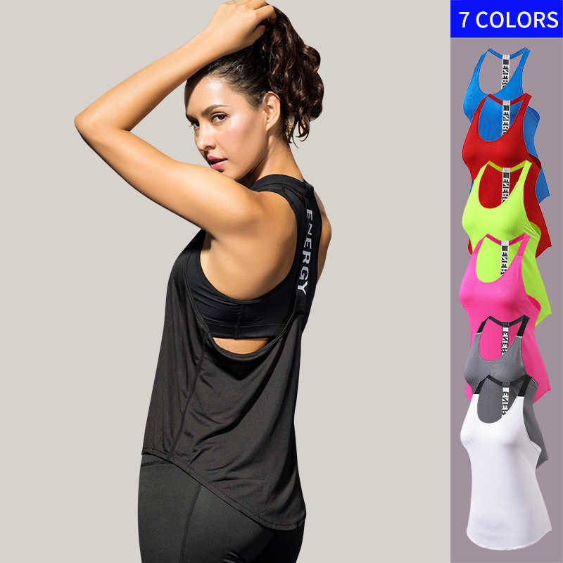 Gym Top Black Sleeveless Yoga Top Gym Women Shirt Fitness T-Shirts Dry Workout Tops Sports Tops Gym Women Backless Shirt