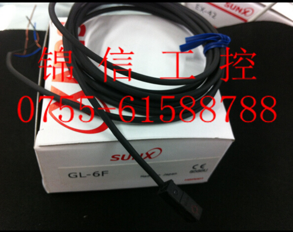 Photoelectric switch Digital sensor GL-6F SUNX  proximity switch leveling sensor tng 065b 02 photoelectric switch parts