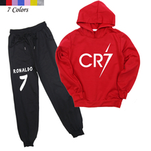 New Arrivals Boys Girls Fashion Hoodies And Pants Children The Ronaldo CP7 Cotton Sweatshirt Casual Trousers