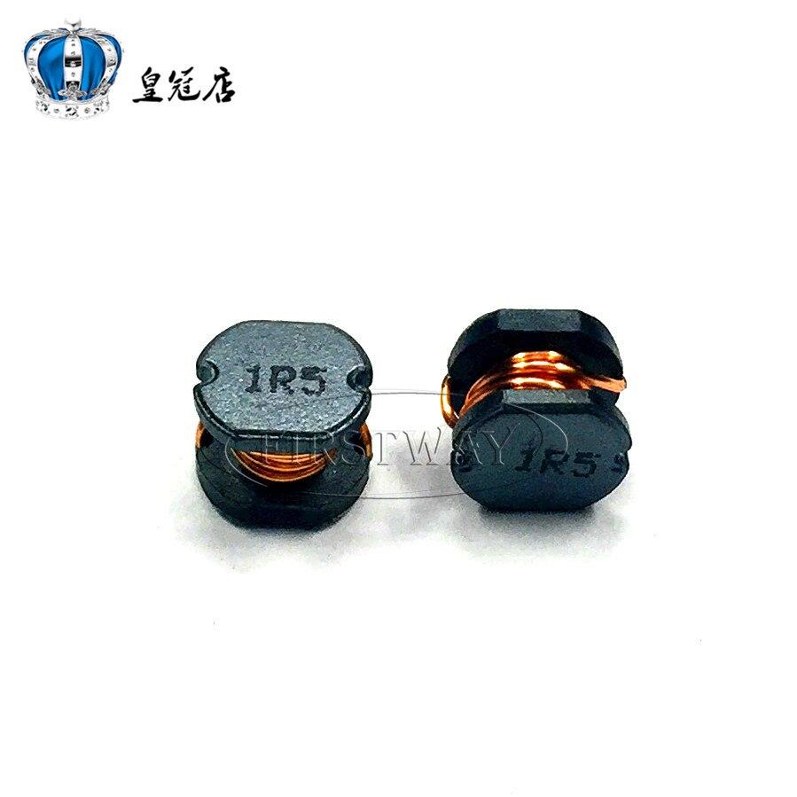 20pcsSMD Power Inductor CD43 CD54 1.5UH word:1R5 PIO54-1R5MT 4.5*4*3.2MM5.8*5.2*4.5MM CD43=4.5X4X3.2MMCD54=5.8X5.2X4.5MM