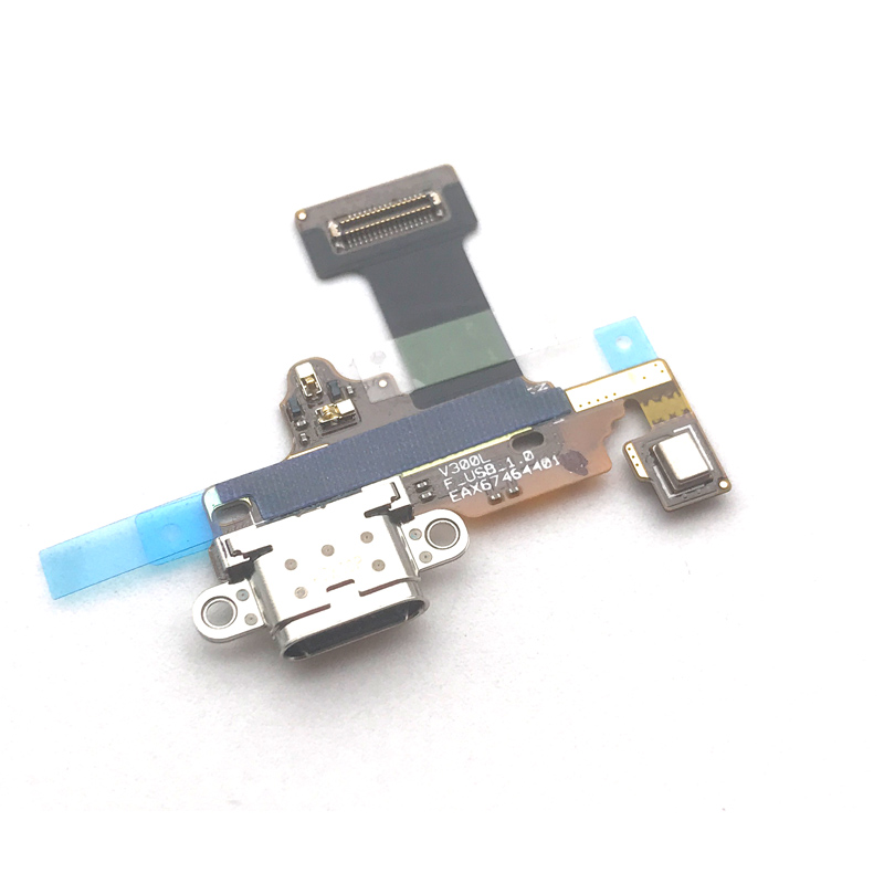 New For LG V30 H930 H933 USB Connector Charger Charging Port Dock Board Flex Cable Replacement Parts