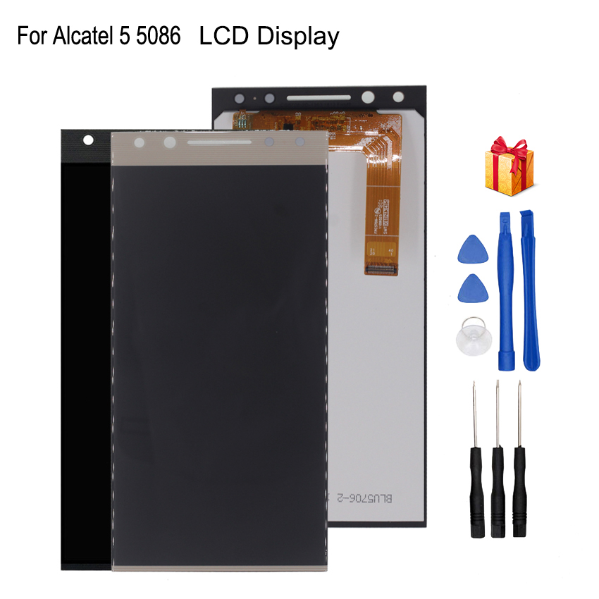 For Alcatel 5 5086 5086A 5086D 5086Y  LCD Display Touch Screen Digitizer Phone Parts