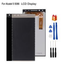 For Alcatel 5 5086 5086A 5086D 5086Y  LCD Display Touch Screen Digitizer For Alcatel 5 5086 Display Screen LCD Phone Parts стоимость