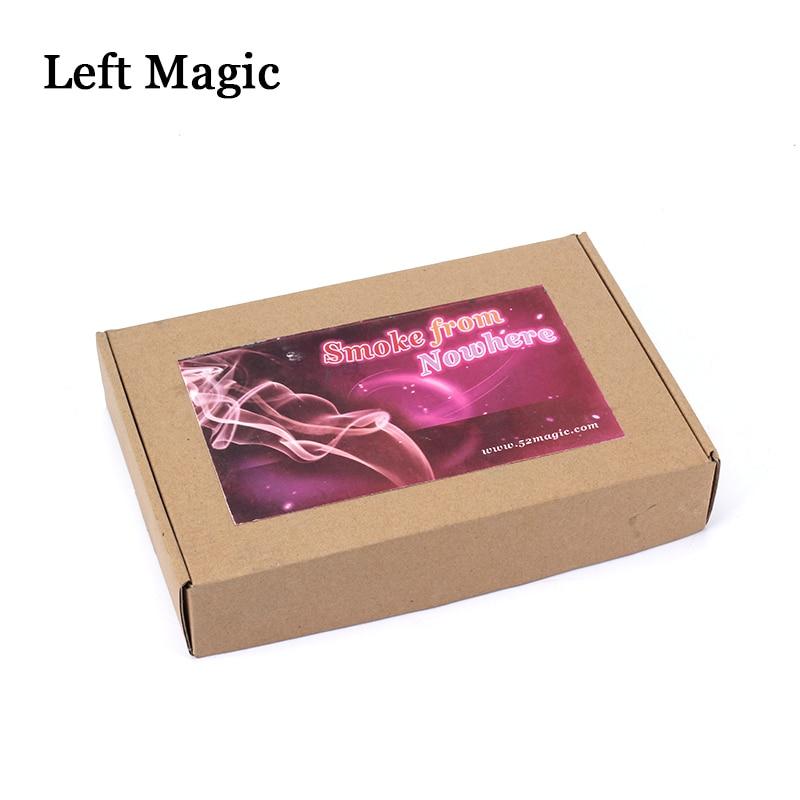 Fumée de nulle part (Version électrique) tours de magie pompe à Air fumeur accessoires de magie scène gros plan accessoires de magie comédie Gimmick