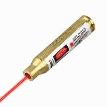 Laser Red Dot 223 REM Cartridge Bore Sight Sighter 5 56 Nato Boresight For Scope