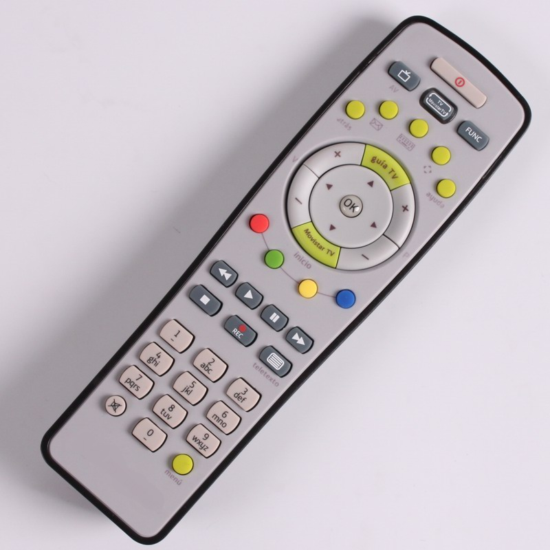 Mando A Distancia Movistar Remote control  Plus Zyxel-ARRIS-ADB STB, RCU STB IMAGENIO MOVISTAR