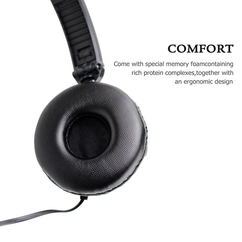 Купить с кэшбэком ShiniA18 Stereo Headphone Bass Earphone 3.5mmHeadset General Purpose Earpiece For Mobile Phone Iphone Xiaomi Fone De Ouvido