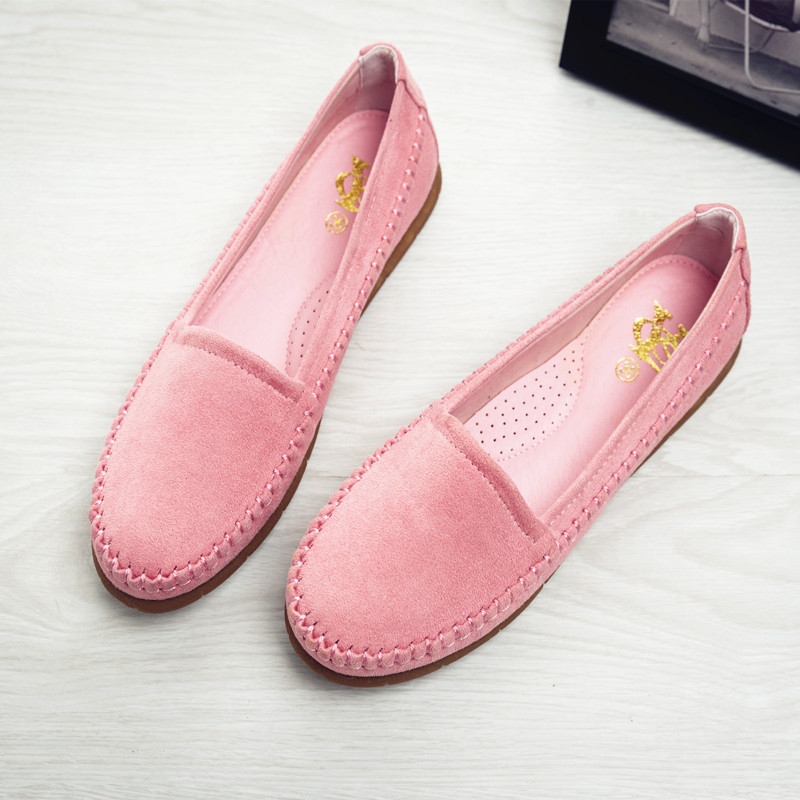d796fd57e0 Ladies Shoes Ballet Flats Women Flat Shoes Woman Ballerinas Black Large  Size 41 Casual Shoe Sapato Womens DL5030-in Women's Flats from Shoes on ...