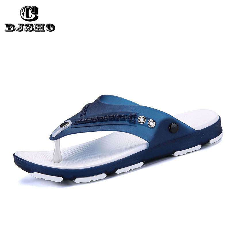 CBJSHO Summer Men's Flip Flops Slip-on Beach Flip Flops Male Breathable Slippers Men Summer Platform Sandals Mesh Light Shoes mens shoes slippers men beach flip flops breathable fashion flip flops for men summer shoes causal sandals male slippers