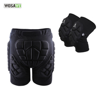 Outdoor Sports Protective Hip Pad Knee Pads Ski Skate Skateboard Snowboard Protection Drop Resistance Roller Padded Shorts