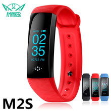 EMI M2S Smart Band Heart Rate Blood Pressure Pulse Meter Bracelet Fitness Watch Smartband for iOS Android PK xiaomi band 2 ID107