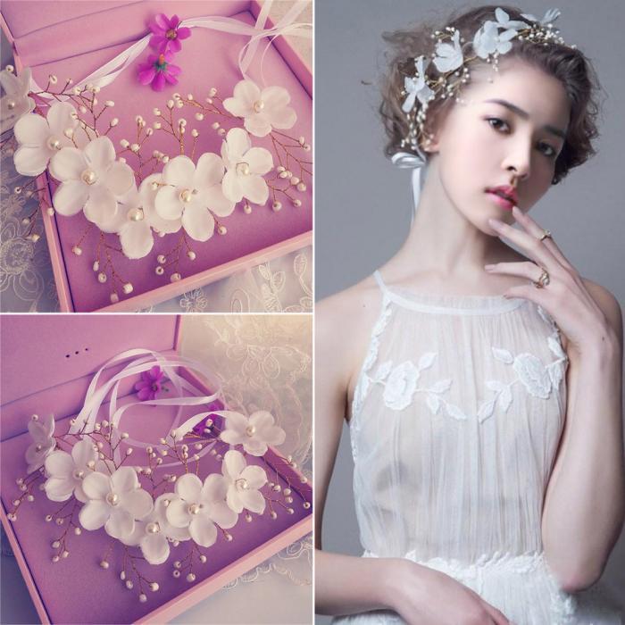 HTB1tOfOJpXXXXXXXpXXq6xXFXXXc - Новое поступление цветочная жемчужная гирлянда для невесты свадебная цветочная корона повязка на волосы бесплатная доставка SL