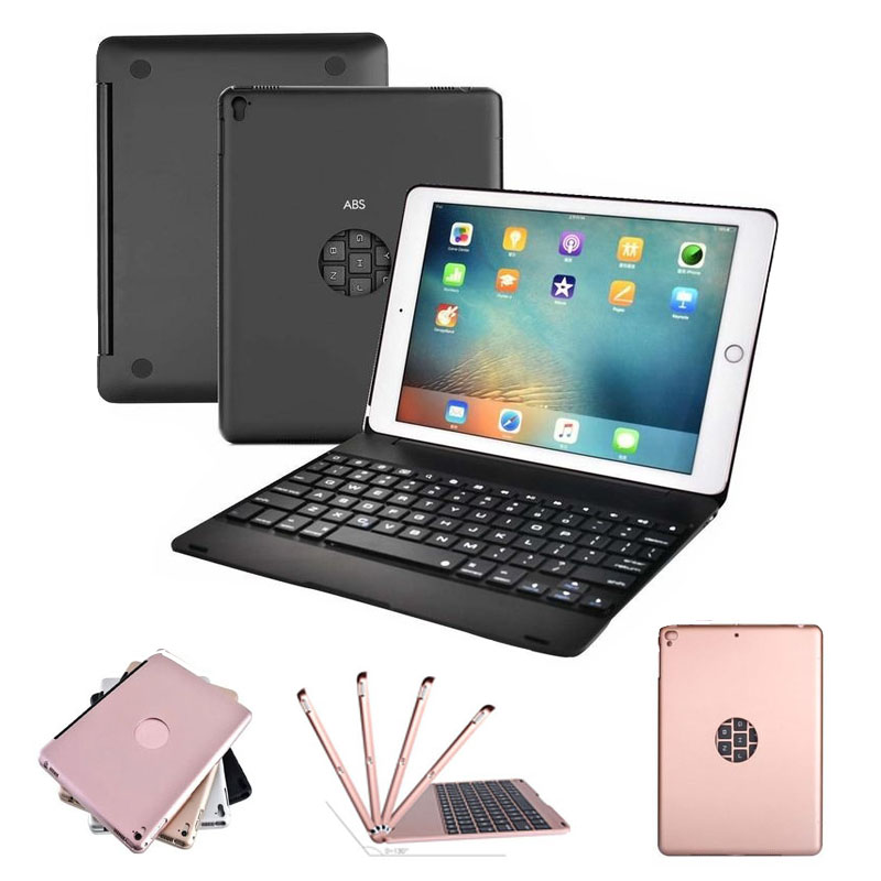 Bluetooth Wireless Keyboard Case Cover For Apple iPad 9.7 New iPad 2017 /2018 iPad Air / Air 2 / Pro 9.7 with Sleep ModeBluetooth Wireless Keyboard Case Cover For Apple iPad 9.7 New iPad 2017 /2018 iPad Air / Air 2 / Pro 9.7 with Sleep Mode