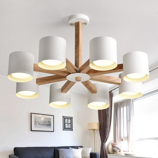 Nordic 3/6/8 Kopf Korea Kronleuchter Beleuchtung Moderne Wohnzimmer  Kreative Hängeleuchte