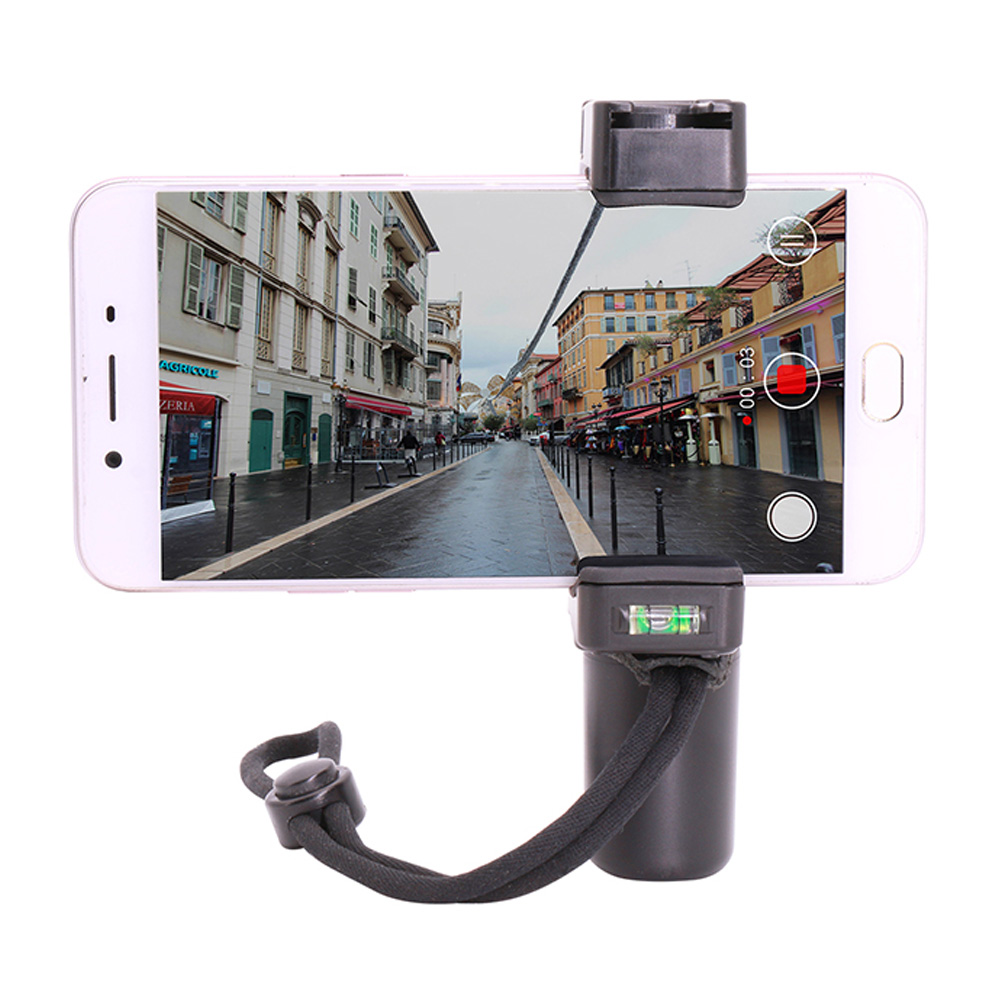Cadiso F-Mount Smartphone Handheld Stabilizer Video Rig Grip Handle Support Tripod Mount For Mobile Phone Videomaker Film-maker