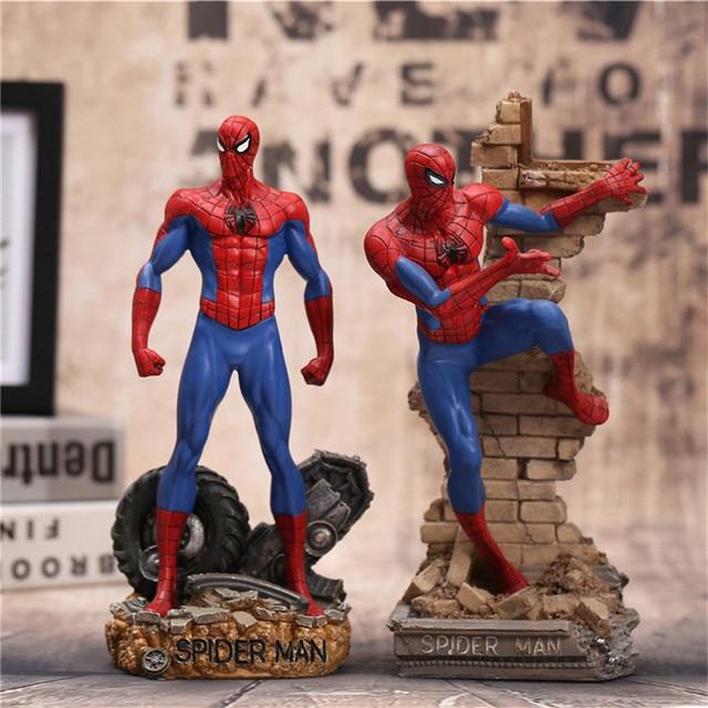 30 centímetros Super Hero Spiderman Toy Figuras de Ação Brinquedos Anime Spider Man Collectible Modelo Brinquedos Como Presente de Natal N023