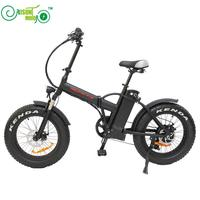 20inch Electric Bicycle Fat Tire Snow Bike 500w High Speed Motor 48V Li Ion Battery 4