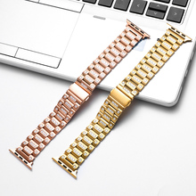 For Apple Watch band 40mm 44mm 38mm 42mm Diamond Band for iWatch bracelet stainless steel strap Apple Watch series 4 3 2 1 osrui for apple watch band 40mm 44mm 38mm 42mm women diamond band for apple watch 4 3 2 1 iwatch bracelet stainless steel strap