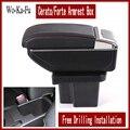 Подлокотник для KIA Cerato Forte  автомобильный Стайлинг  контейнер из искусственной кожи для хранения вещей  подлокотник kia с подстаканником  USB ...