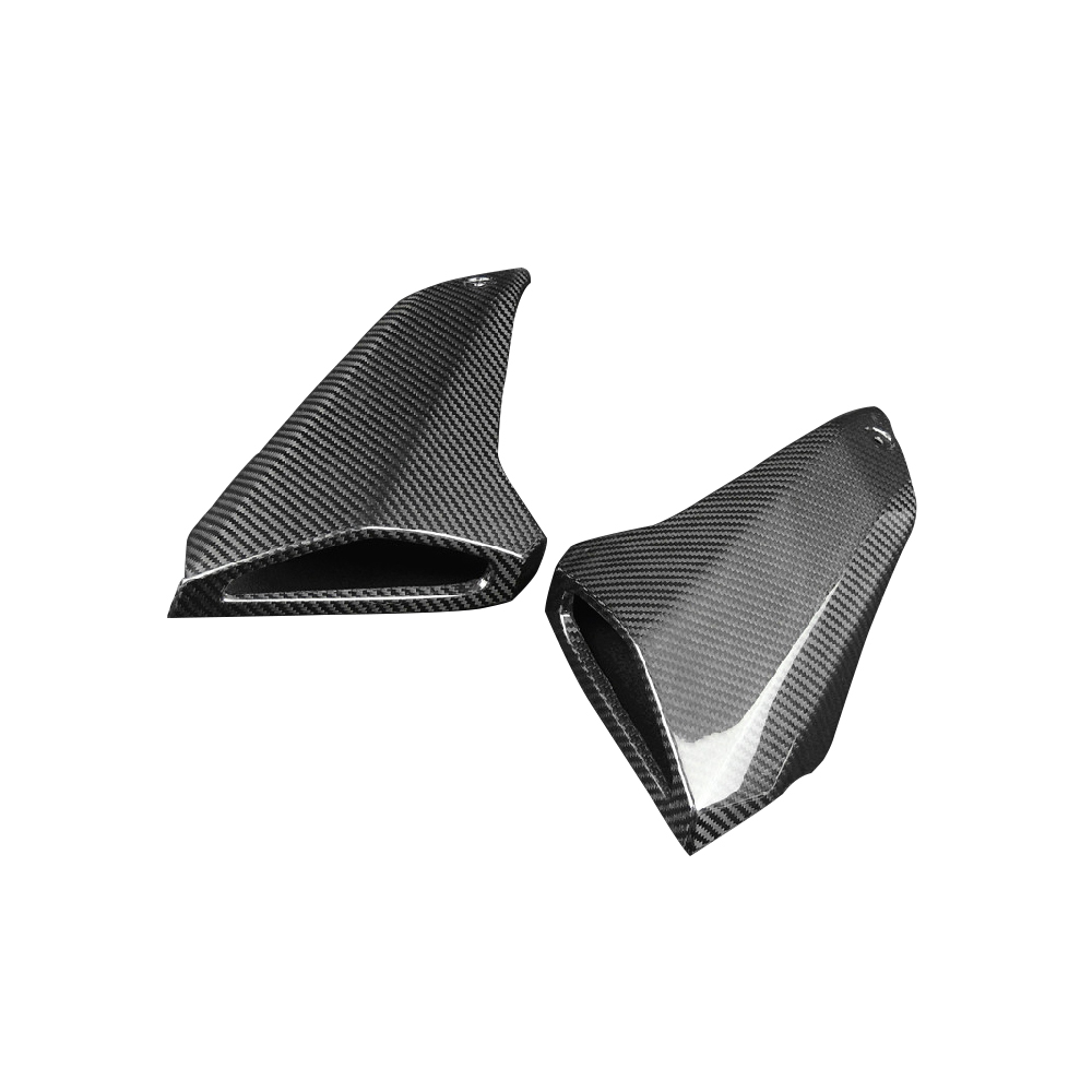 Motorcycle Carbon Fiber Air Intake Tube Cover Intake Pipe Fairing Accessories For Yamaha MT09 FZ09 MT 09 FZ 09 2014 2015 - 2017 arashi 1 pair air intake inlet guard cover protector for yamaha mt 09 mt09 fz 09 2014 2015 2016 5 colors