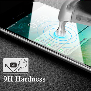 Image 4 - Protective glass on the for apple iPhone 7 8 plus screen protector film 7plus 8plus armored sheet verre tremp tempered 7p 8p