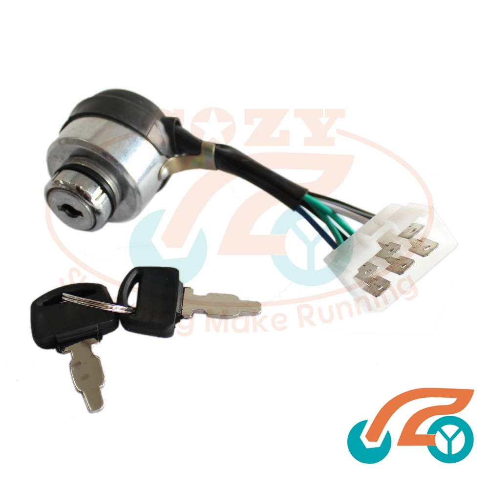 6 Wire Key Switch Data Schema Generator Ignition Wiring Diagram Gas 389cc 396c 401cc 13hp 14hp Rh Aliexpress Com Single Pole