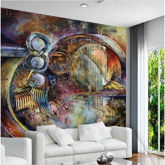 Beibehang Large Custom Wall Paper Cool Metal Texture: Beibehang Custom Large Scale Murals Do Old Metal Texture