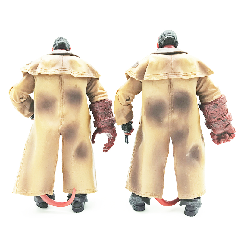 18cm MEZCO Hellboy Display Action Figure Model Toy Hellboy Collection Doll Jouet Children Birthday Toy Gift in Action Toy Figures from Toys Hobbies