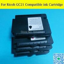 10 cartouches d'encre compatibles GC21 vides pour Ricoh pour Ricoh GX2050 GX3050 GX7000 GX5000 GX3000 GX2500 imprimante