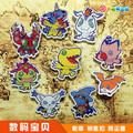 NEW!! 9 pcs/set Anime Digimon Digital Monster Figures Genuine Hobby Stock pvc Figure Phone Strap/Keychain Pendant Toys