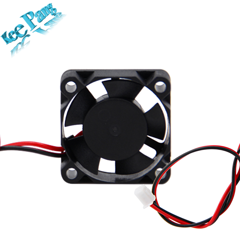 5pcs Cooling Fan 12V 24V 3010 2 Pin Brushless DC Cool Fans Dupont Wire 3CM 3D Printers Parts Cooler Radiator Part 30*30*10 30mm 120x120x25mm 12025 fans 12 volt 2pin brushless 12cm dc fans chassis fan cooler cooling radiator