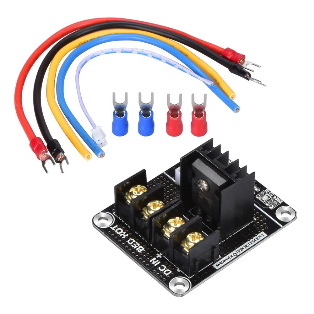 BIQU 3D Printer BTMOS-V2.0 MOSFET Expansion Board Heat Bed Power expansion with SKR mini V1.3 MKS Gen V1.4 board For Heat Bed