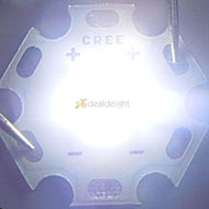 Cree XLamp XM-L2 XML2 T6 Cool White Led Emitter Light- ը 20 մմ - Լուսավորության պարագաներ - Լուսանկար 3