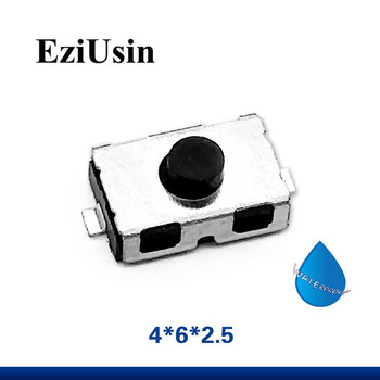 EziUsin 3*6*2.5 NO Tact Micro Switch Normally Open / Closed NC SMD Touch Silica Gel Button Keys Interrupteur 4*6 4x6x2.5 3x6x2.5