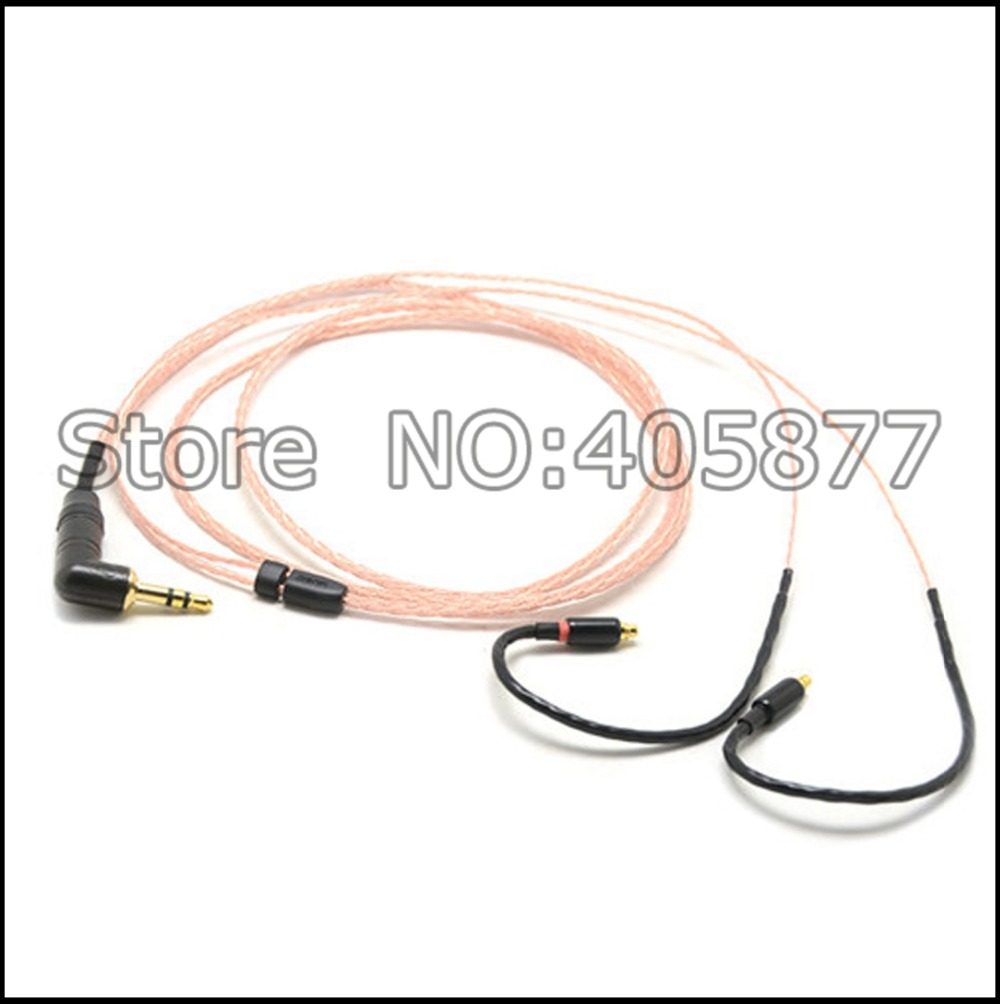 High quality 1.2M pure copper Earphone cable  For Westone W60 W50 W40 W30 W20 headphone updated cable