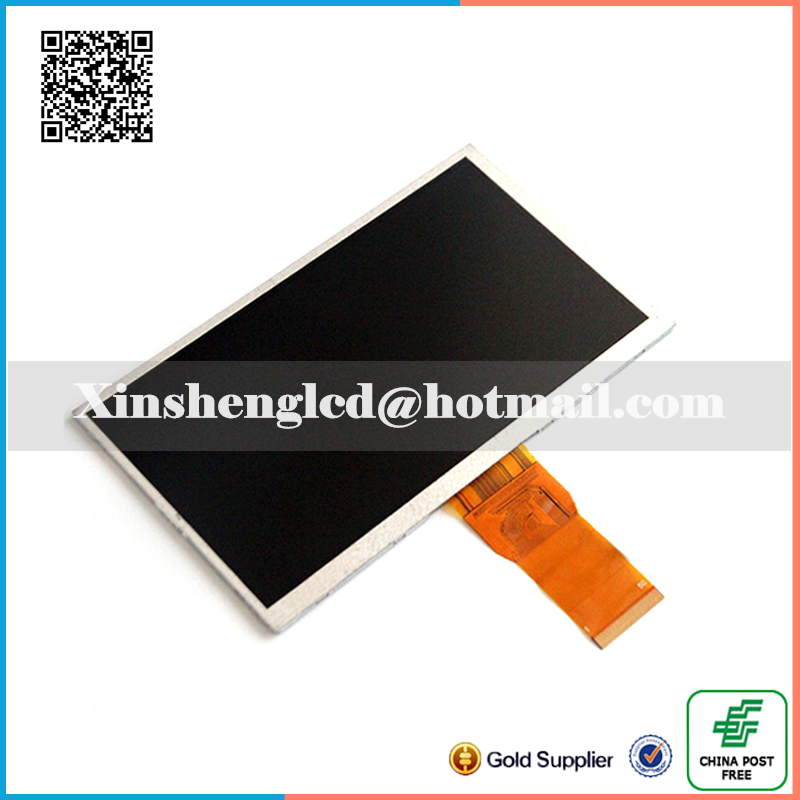7 inch for Tablet LCD display screen FPC7005002 ,size:163*97mm /165*100mm (800*480)