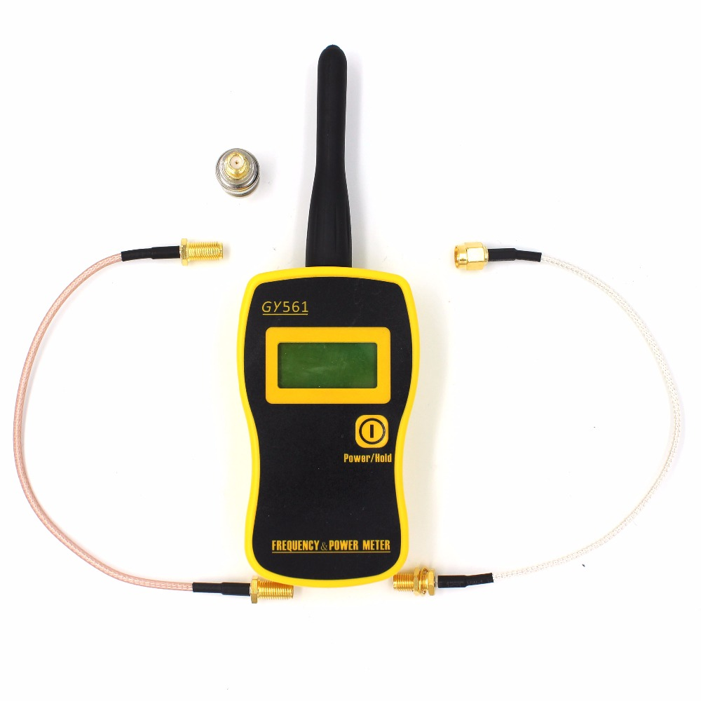Two Way Radio Frequency Counter & Portable Handheld Power Meter GY561 GY-561 Test Range 1MHz-2400MHz /0.1W-50W