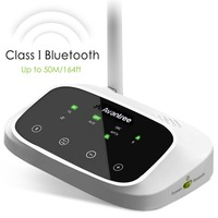 Avantree LONG RANGE Bluetooth Transmitter And Receiver 2 In 1 For TV Speakers AptX Low Latency