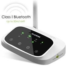 Avantree DALEKIEGO ZASIĘGU Nadajnika Bluetooth dla TV Audio, bezprzewodowy Nadajnik i Odbiornik, Wsparcie Cyfrowe Optyczne, RCA AUX Port