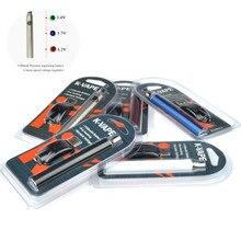 50 шт./лот КБР Preheat Vape ручка 1100 мАч переменное напряжение Preaheating батарея 510 испаритель O ручка электронная сигарета Vape ручка
