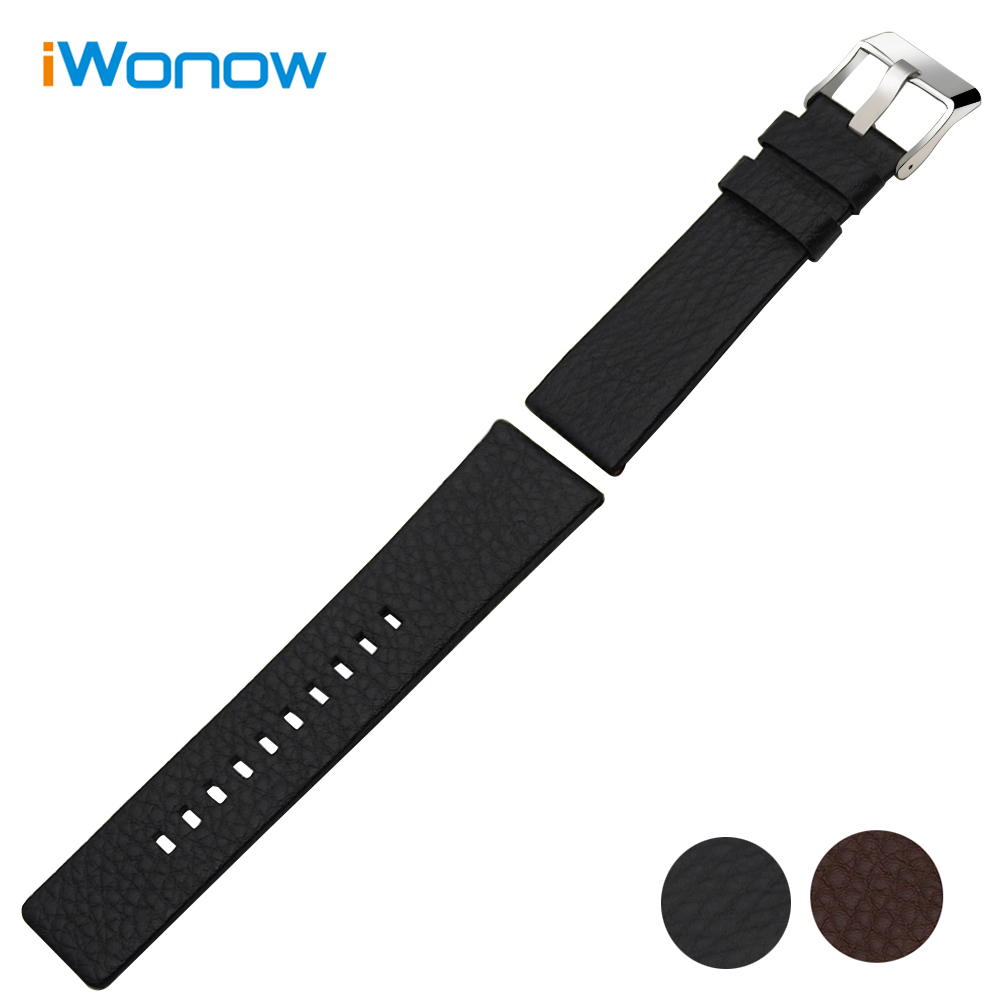Italian Calf Genuine Leather Watchband 28mm for Seven Friday P M Q V S Replacement Watch Band Wrist Strap Steel Buckle Bracelet