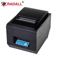 RD 8250 Black And White Style Thermal Printer USB Interface Type 80mm thermal pos receipt printer with auot cutter
