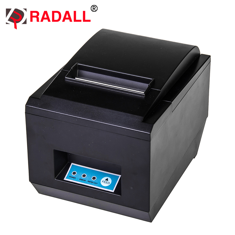 RD-8250 Black And White Style and USB Interface Type 80mm thermal pos receipt printer with auot-cutter gp u80300iv integrated thermal receipt printer serial usb 100m ethernat parallel usb interface compatible with esc pos emulation