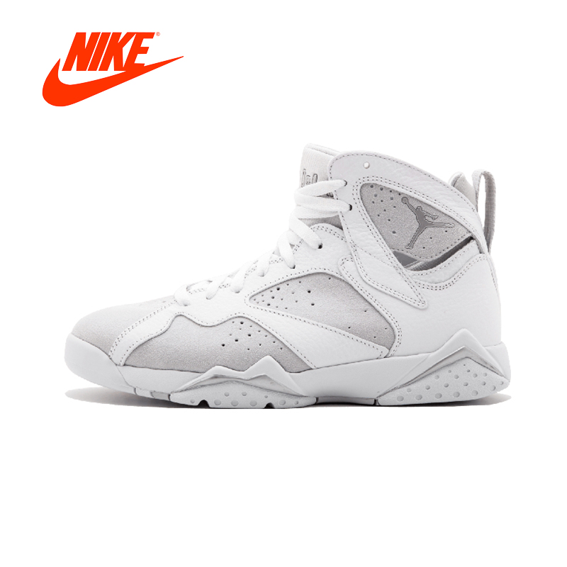Original New Arrival Authentic NIKE Air Jordan 7 Retro AJ1 Mens Basketball Shoes Sneakers Sport Outdoor Good Quality баскетбольные кроссовки nike air jordan air jordan retro hi og laser aj1 705289 100