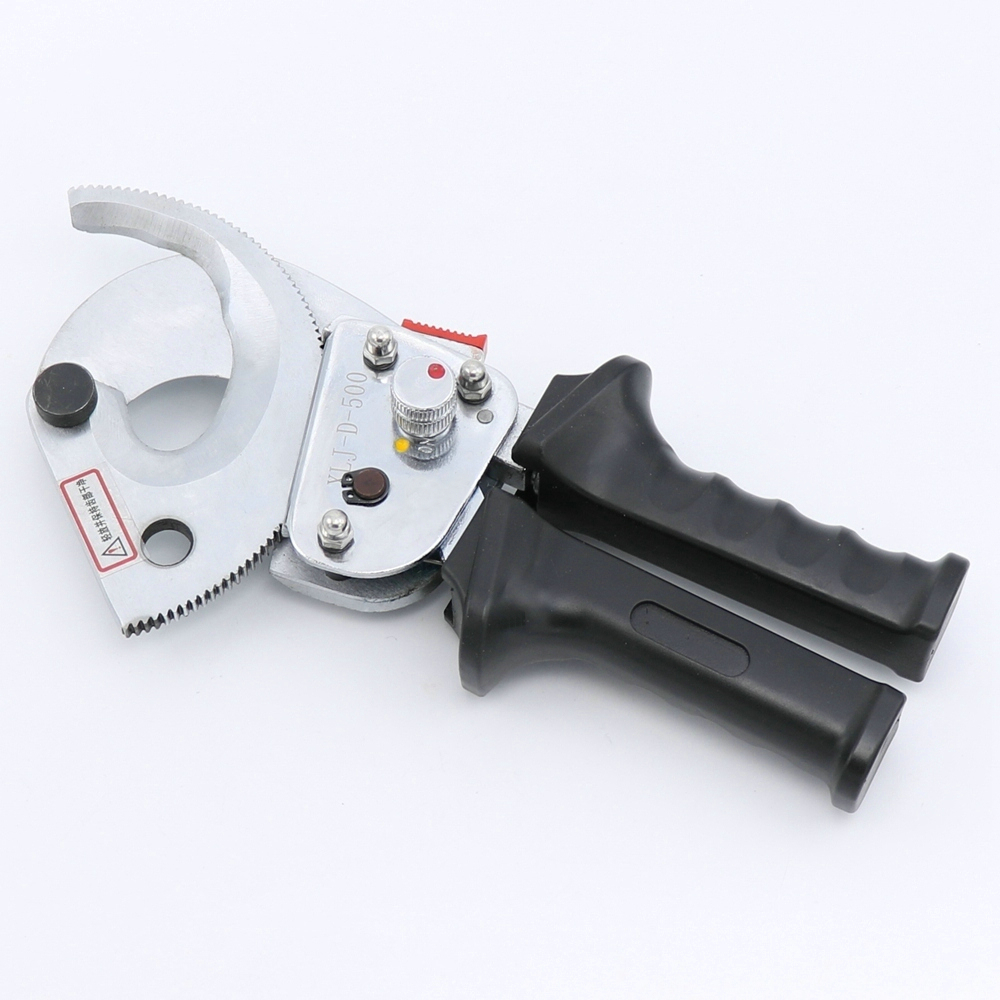 HEAVY DUTY RATCHETING RATCHET HAND CABLE WIRE CUTTER Φ60mm//500mm2
