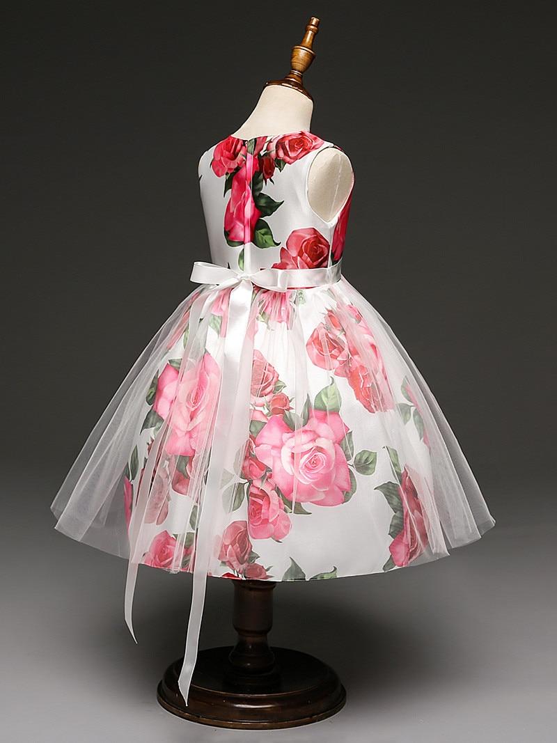 2017 Nuevo vestido De Flores de los marcos para la boda party girls ...