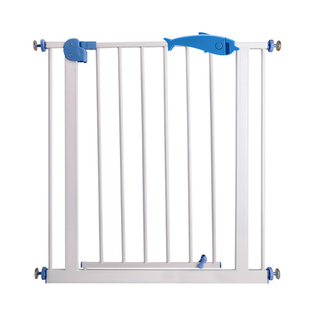 Child gate baby guardrail pet dog grid railing fence isolating valve