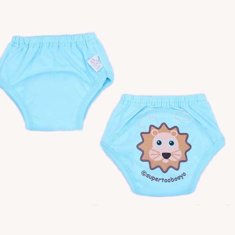 Образец 1 шт., многоразовые тренировочные штаны для малышей, недорогие детские трусики-подгузники, нижнее белье для новорожденных