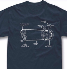 Funny Bicycle T Shirt Gift Bike Cycling Rider S - 5XL Men Tee Shirt Tops Short Sleeve Cotton Fitness T-Shirts Personality